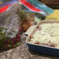 Completed Meals from Meal plan