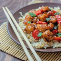 General Tso's Chicken Take out Fake out recipe.